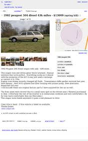 For $13,000, Could This 1982 Peugeot 504 Diesel Wagon Be A Bodacious ... Craigslist Sf Cars For Sale By Owner New Car Updates 1920 Beautiful Trucks For Houston Enthill How To Avoid Curbstoning While Buying A Used Scams San Antonio 82019 Reviews Coloraceituna Delaware Images 10 Funtodrive Less Than 20k Maine Wwwtopsimagescom Youve Been Scammed Teen Out 1500 After Online Car Buying Scam Bmw Factory Warranty Models 2019 20 Bangor Cinema Club Set Open Soon In Dtown
