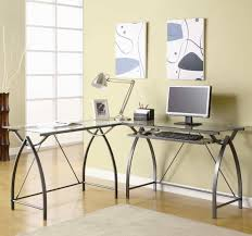 Tempered Glass Computer Desk by Advantages Of A Glass Computer Desk Custom Home Design