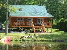 Shehawken Lake Vacation Rental VRBO 3 BR Poconos Cabin
