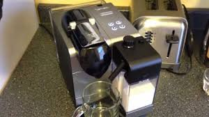 DeLonghi Nespresso Lattissima Plus Latte Cappuccino Maker Overview