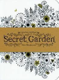 Secret Garden Three Mini Journals