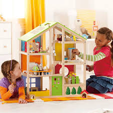 Hape Kitchen Set South Africa by Hape All Season House Furnished Kids Toddler Toy Wooden Dollhouse