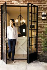 Steel Windowed French Doors Love These I Want To Do This From My Dining Room Outside