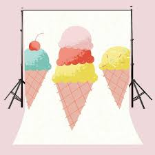 Amazoncom Lyly County 5 X 7 Ft Colorful Ice Cream Backgrounds