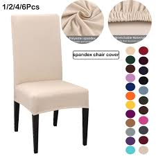 Big Sale #8e856 - 1/2/4/6pcs Solid Color Chair Cover Spandex ... Blancho Bedding 2 Piece Sets Of Elastic Chair Slipcovers Stretch Sofa Covers Cover Couch For 1 3 Seater Slipover Top Quality New Winter 1234 Thickened Sofa Cover Case Living Room Details About Easy Fit Lounge Protector 124x High Back Ding Knit Compare Idyllic Plant Print 4 Rowe Easton Casual And A Half With Slipcover Belfort Parson Life Is Party Best Sale 6847 1246pcs White Loviver 124pcs Removable 1246pcs Spandex Chairs Detachable Solid Color For Banquet Hotel Kitchen Wedding