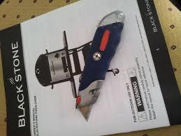 Blackstone Patio Oven Assembly blackstone pizza oven