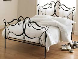 Wesley Allen King Size Headboards by Iron Bed Frames King Andreas King Bed