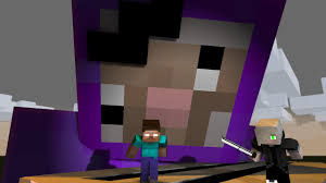 Purple Shep Battle For The Toaster Minecraft Animation