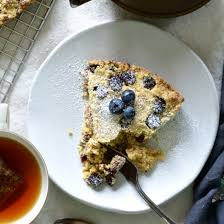 Blueberry Fig Crumbly Cake