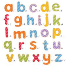 Bolcom Bigjigs Houten Magneetletters Magneet Kleine Letters