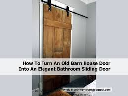 Bathrooms Design : Bathroom Barn Door For How To Turn An Old House ... Wood Sliding Barn Door For Closet Step By Bathrooms Design Bathroom For How To Turn An Old House Bedroom Farm Hdware Style Build A Diy John Robinson Decor Architectural Accents Doors The Home Best 25 Interior Barn Doors Ideas On Pinterest To Install Diy Network Blog Made Remade The Stonybrook Top Youtube Reclaimed Oak And Blue Ribbon Factory