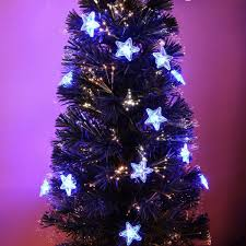 Small Fibre Optic Christmas Trees Uk by 4ft Artificial Fibre Optic Table Top Christmas Tree With Star