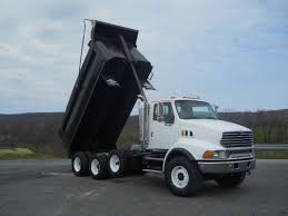 100 Tri Axle Dump Trucks 2007 STERLING L9513 TRIAXLE STEEL DUMP TRUCK FOR SALE 494625