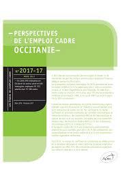 etude apec perspectives de l emploi cadre en occitanie 2017