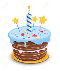 Birthday cake Stock Vector