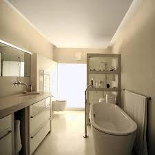 badezimmer mit minimalistischem design und maximalem komfort