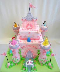Birthday Cakes Princess Castle Cake