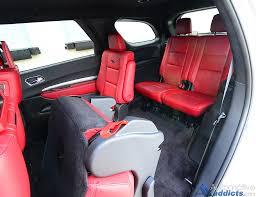 Dodge Durango Captains Seats by 2016 Dodge Durango R T Blacktop Rwd Review U0026 Test Drive U2013 The Jack