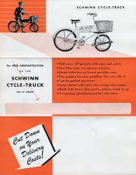 Schwinn Cycle-Truck Booklet | Cycling Schwinn Wayfarer Mens 7 Speed Retro Style City Bike Blue 1939 Cycle Truck For Sale 500 The Classic And Antique 26 Womens Catalina Cruiser Shop Your Way Online 1964 Products Custom Electric Bikes Cycletruck Ebay Hauls The Freight Urban Adventure League Our Vintage Collection Ace Bicycle Racks Bags Amazoncom 1966 Deluxe Racer Another Step Toward Hub Coop Minneapolis All Types Of