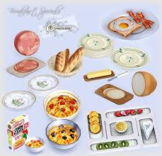 Sims 3 Kitchen Decor Food Objects Like And Repin Noelito Flow Instagram