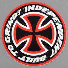 Independent Trucks Speed Kills Skateboard Sticker - 4