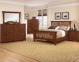 Vaughan Bassett Dresser With Mirror by Simply Arts And Crafts Dark Cherry Bedroom Set Vaughan Bassett