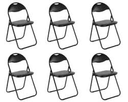 klappstuhl metall 6er set küchenstuhl kaufland de