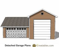 Small Generator Shed Plans by 34x38 Rv Garage Plans With 2 Car Garage