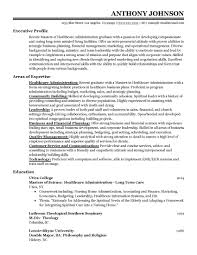 Administrative Resume Examples Health Care Administration Maggi