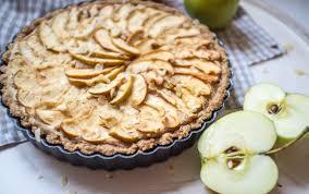 Decadent Hazelnut Maple Apple Tart