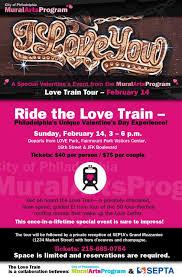 Philadelphia Mural Arts Love Letter Tour by Ride The Espo Love Train Arrested Motion