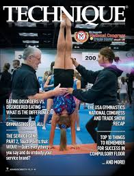 Usag Level 2 Floor Routine 2017 by Technique Magazine November December 2015 By Usa Gymnastics Issuu
