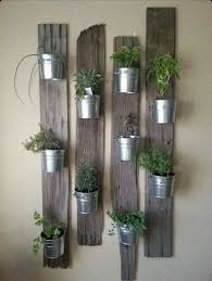 Pallet Planks Plant Holder