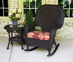 Polywood Rocking Chair Target by Tortuga Outdoor Lexington Wicker 2 Piece Rocker And Side Table Set