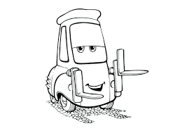 Lightning Mcqueen Mater Coloring Pages Picture Cars Tall Tales Disney Tow Full Size