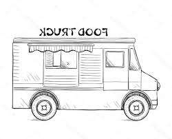 100 Truck Drawing 15 Vector Truck For Free Download On Ayoqqorg