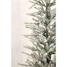 75 Douglas Fir Artificial Christmas Tree by Holiday Time Artificial Christmas Trees Unlit 4 U0027 Snow Burlap
