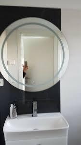led spiegel durchmesser 78 cm badezimmer hornbach