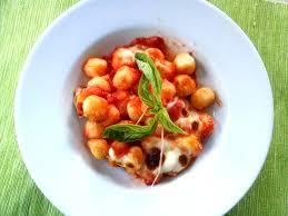 Pumpkin Gnocchi Recipe Uk by Gnocchi With Tomato Sauce And Mozzarella Recipe All Recipes Uk