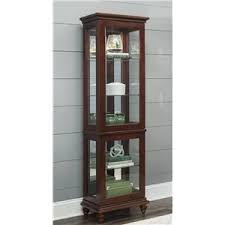 Pulaski Display Cabinet Vitrine by Curio Cabinets Jackson Mississippi Curio Cabinets Store