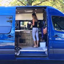Two Months Later The Couple Bought Their Own 2013 Mercedes Sprinter To Convert Themselves