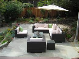 urban garden design photograph s seating area with deck and in sw