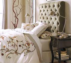 King Platform Bed With Fabric Headboard by Bedroom Attractive Light Tan Queen Size Cal Gray Footboard Bed