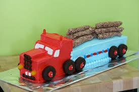 100 Semi Truck Cake 56450 Cool Homemade Mack Birthday