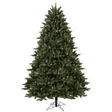 Fraser Fir Christmas Trees Delivered by Ge 7 5 Ft Pre Lit Led Just Cut Frasier Fir Artificial Christmas