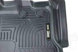 Husky Liner Weatherbeater Floor Mats by 2012 2016 Ford Expedition Husky Liners Weatherbeater Front Floor