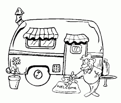 Camping Coloring Pages Free Printable 51582