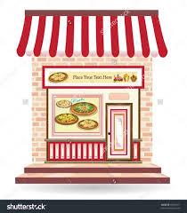 Pizza Store Clipart Shop Drawing Clipartxtrasrhclipartxtrascom