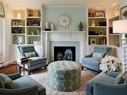 light blue living room living room brown and light blue living