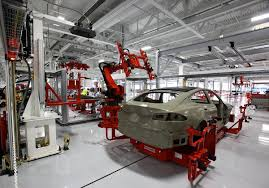 Tesla Factory - Wikipedia General Motors Completes Sale Of Lolauishing European Division Autocar Chooses Alabama For 120 Million Truck Assembly Plant Gm Canada To Invest Almost 1 Billion In Rd At Oshawa The Star Pickups Drive Suppliers Add Jobs Facilities Business Buffettbacked Byd Open Ectrvehicle Ontario Eliminate A Shift Fairfax Kck Ford Is Shutting Down Kansas City Plant Week Fortune Amazoncom Last Truck Closing Steven Bognar Julia What Expect From Company 2018 Motley Fool Robots Are Comingslowly Into Tennessee Auto Plants Watch The Hbo Original